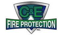 C & E Fire Protection Logo